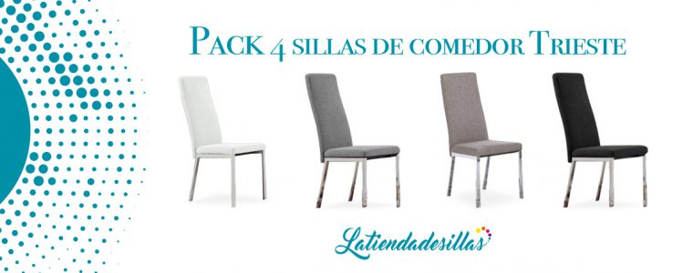 Pack sillas