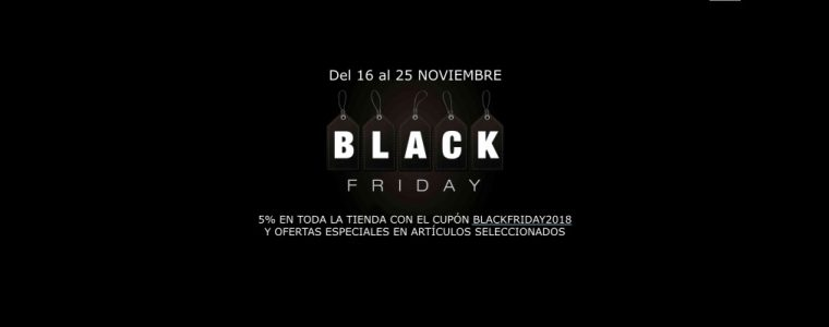 CUPON: BLACKFRIDAY2018